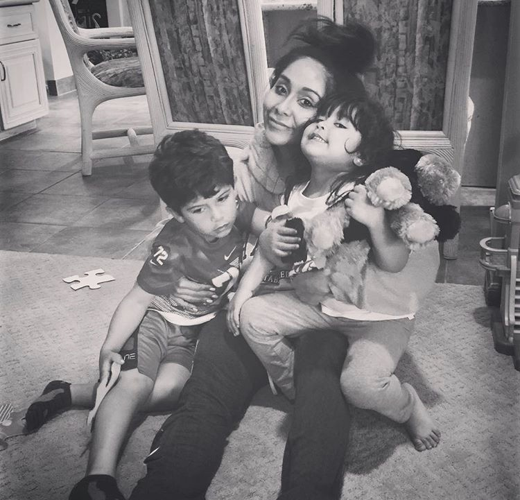 Snooki With Her Son & Daughter