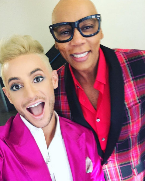 Frankie and RuPaul