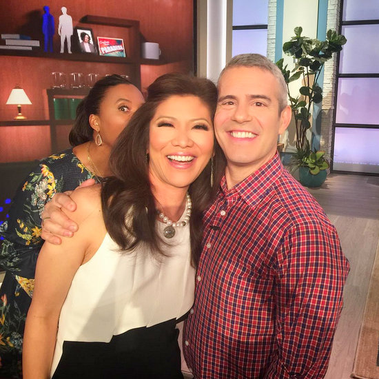 Julie Chen and Andy Cohen