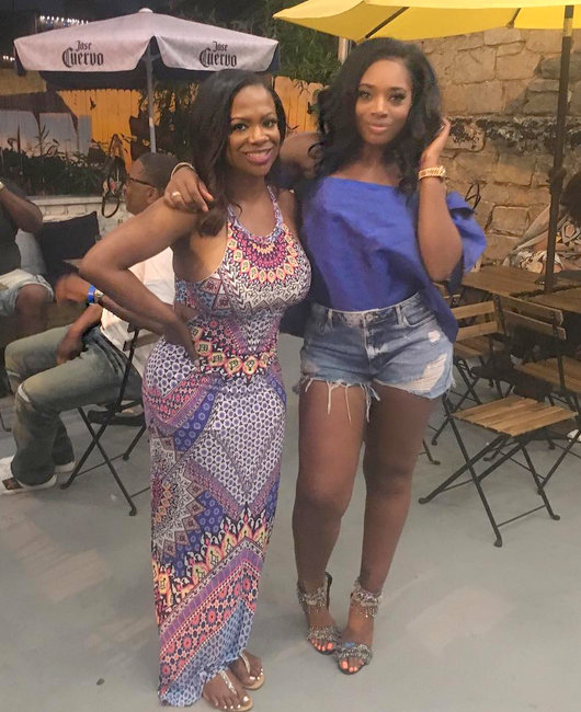 Kandi Burruss and Yandy Smith