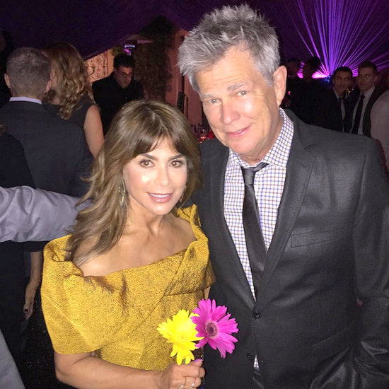 Paula Abdul and David Foster