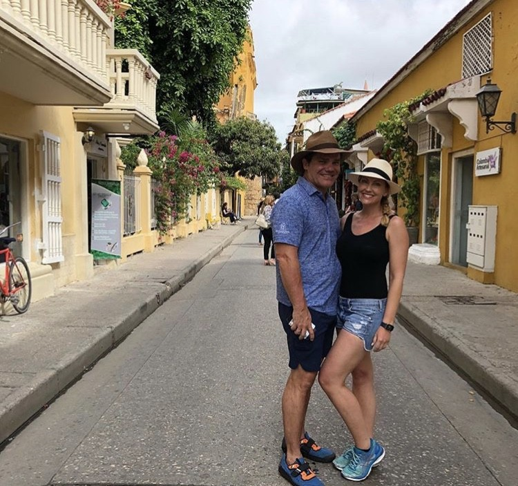 Stephanie & Travis On Their Last Day Of Vacation
