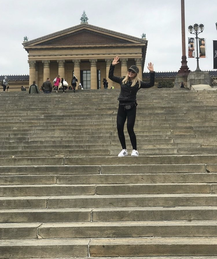 Tamra At The Rocky Steps