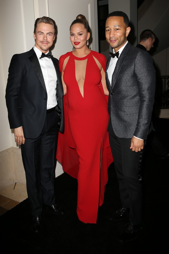 Derek Hough, Chrissy Teigen & John Legend