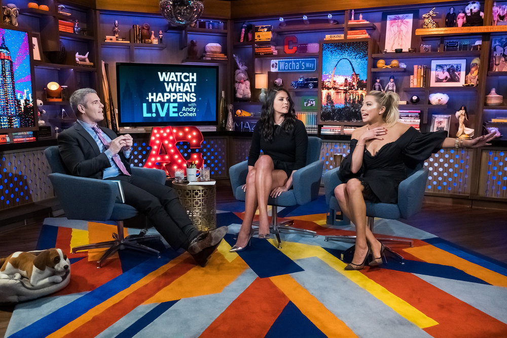 Andy Cohen, Cecily Strong & Stassi Schroeder