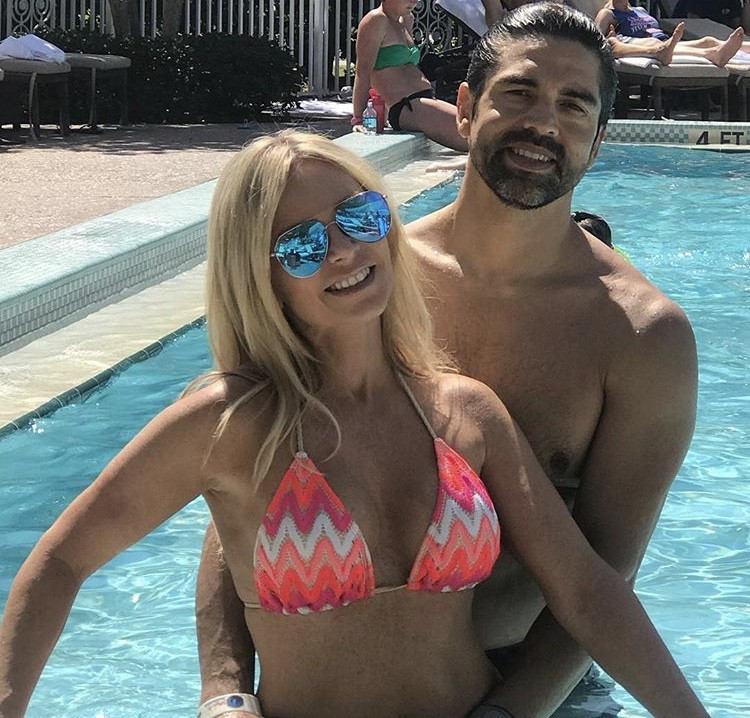Tamra & Eddie In The Pool