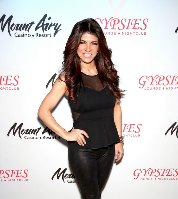 Teresa & Joe Giudice At Mount Airy Casino