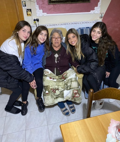 The Giudice Girls With Joe's Grandma