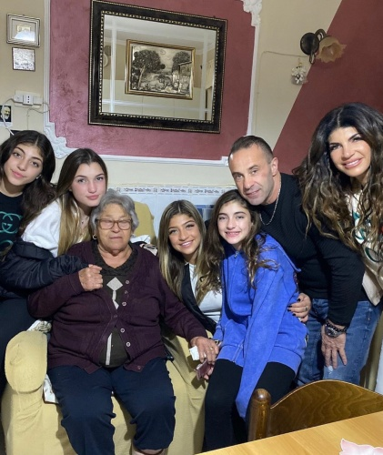 The Giudice's With Joe's Grandma