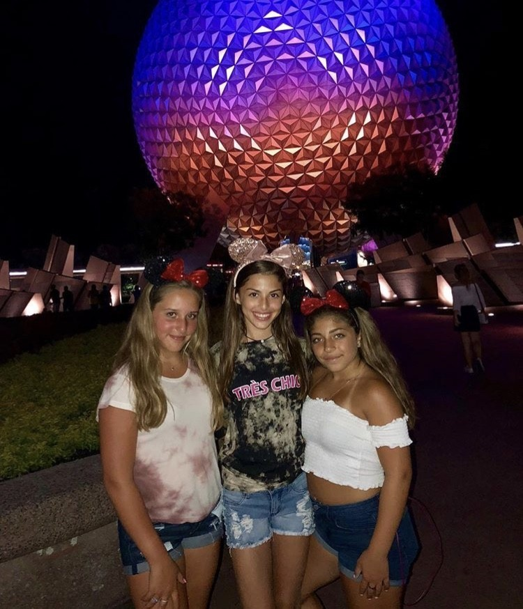 Milania With Her Friends