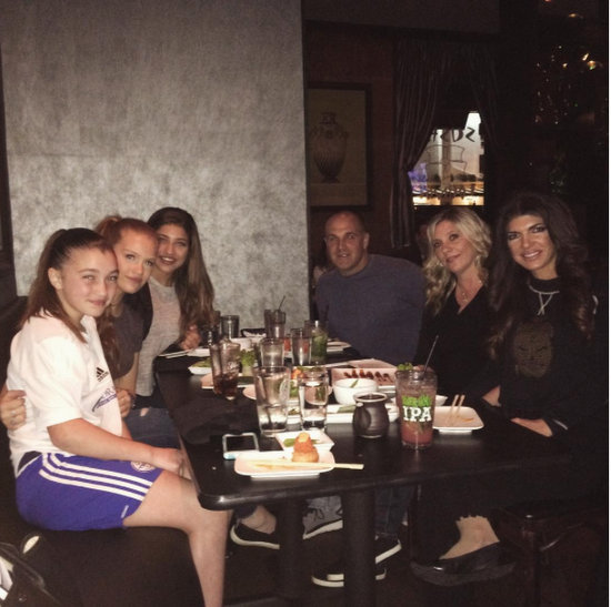Dinner With Her Daughters & Friends