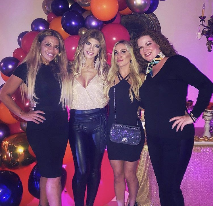 Teresa & Dolores With Their Friends