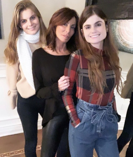Danielle Staub With Her Daughters
