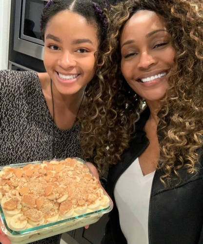 Cynthia Bailey With Mike Hill's Daughter