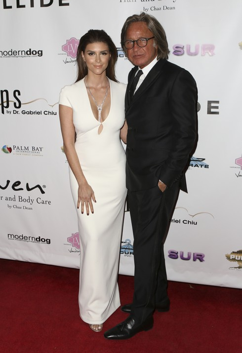 Mohamed Hadid and Shiva Safai