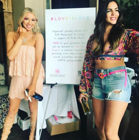 Stassi & Katie Hosting An Event At SUR