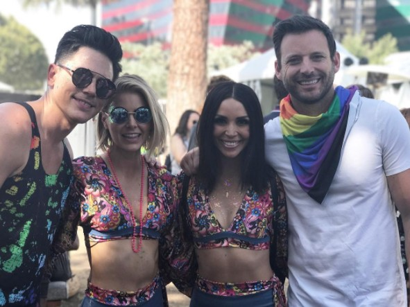Sandoval & Ariana Double Date With Scheana & Rob